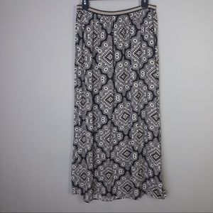 Old Navy Patterned Maxi Skirt
